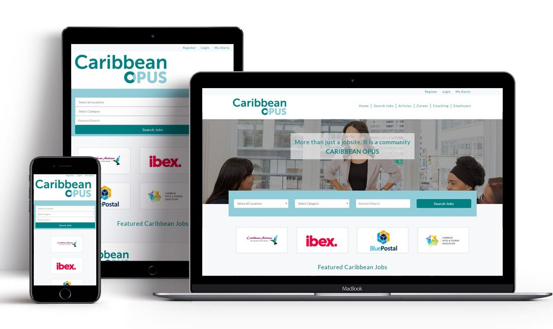 Online Caribbean Jobsboard, Caribbean Opus