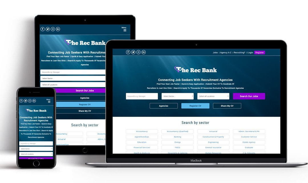 The Rec Bank, a Tech-Driven Job Board for Recruitment Agencies and Candidates, Launched