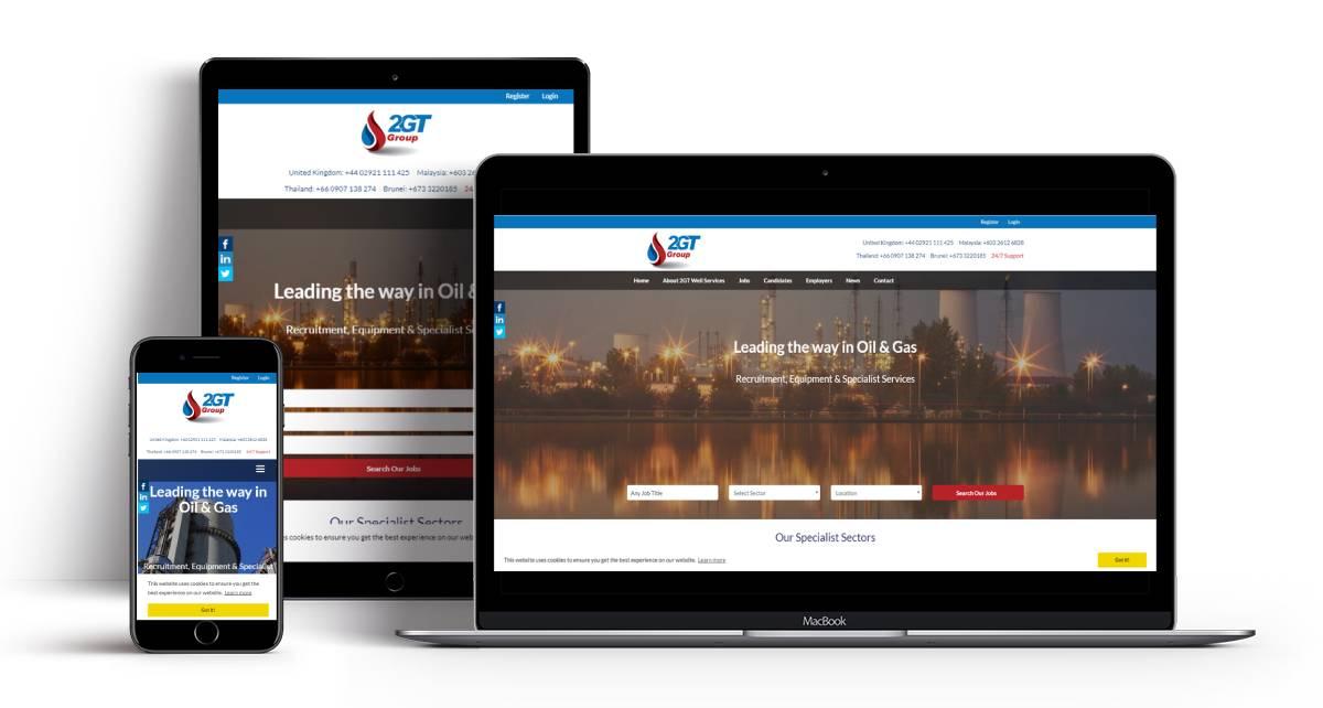 2GT Recruitment Website