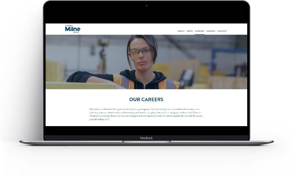 Stewart Milne Careers Website
