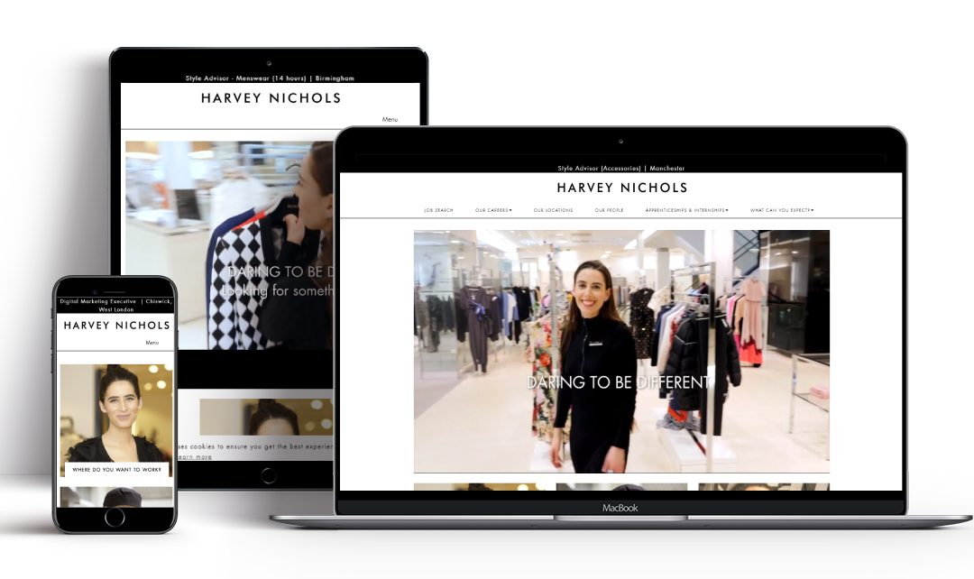 Recruitive Launch Harvey Nichols Newly Branded Careers Website