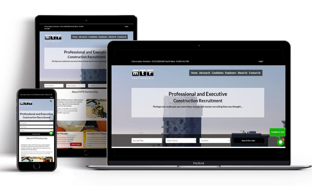 Recruitive Launch MTR Partnership's New Recruitment Website