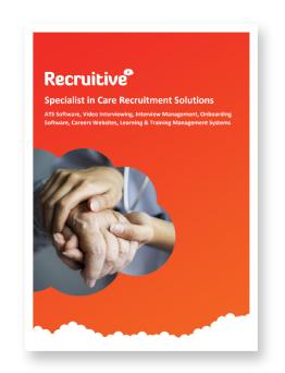 Care recruitment
