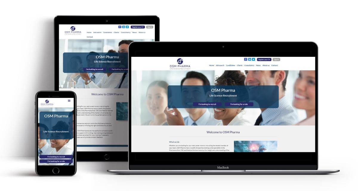 OSM Pharma Specialist Recruitment Website