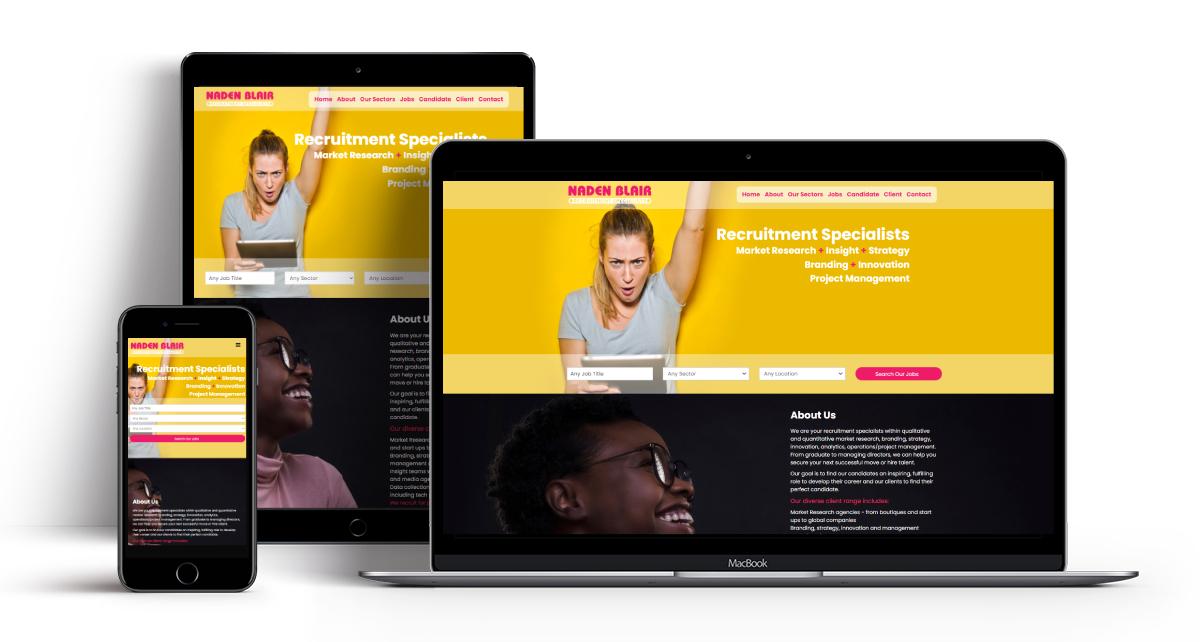 Naden Blair Recruitment Website by Recruitive