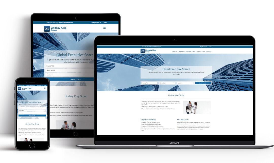 Website Upgrade for The Lindsay King Group