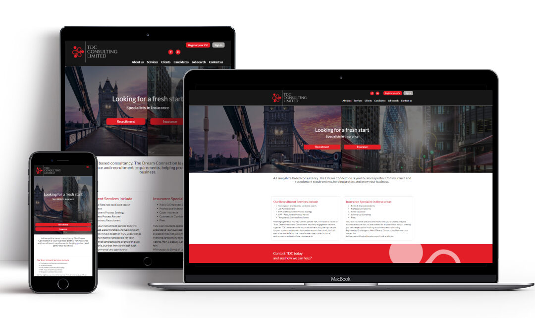 New Year, New Website for TDC Consultancy