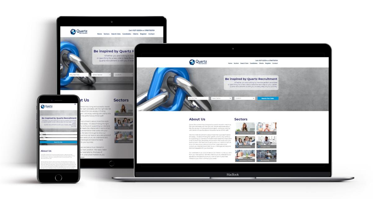 quartz recruitment - recruitive limited - ats, recruitment software, careers websites