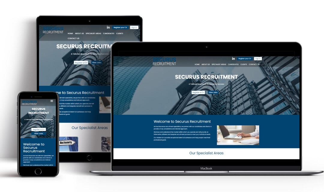 A New Recruitment Website for Securus Recruitment